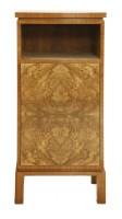 Lot 271-An Art Deco walnut cabinet