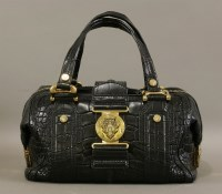Lot 1000-A Gucci crocodile 'Aviatrix Boston' handbag
