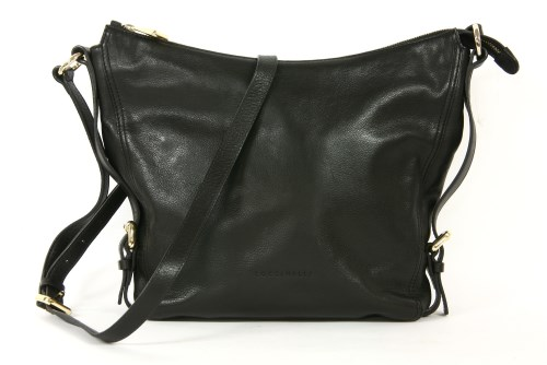 Lot 1025-A Coccinelle black leather shoulder bag