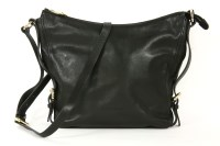 Lot 1025-A Coccinelle black leather shoulder bag
