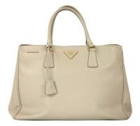 Lot 1094 - A Prada light grey tote handbag