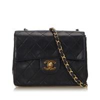 Lot 1038-A Chanel mini classic flap handbag
