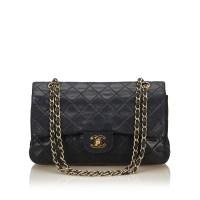 Lot 1052 - A Chanel classic medium double flap bag