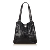 Lot 1068 - A Mulberry embossed leather shoulder bag