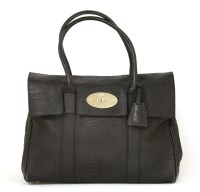 Lot 1076 - A Mulberry 'Bayswater' limited edition alligator embossed leather handbag