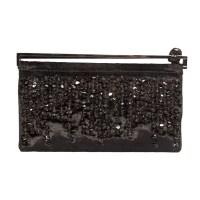 Lot 1082 - A Gucci black velvet evening handbag
