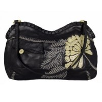 Lot 1085 - A Jamin Puech black leather handbag