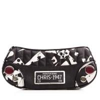 Lot 1087 - A Christian Dior leather handbag
