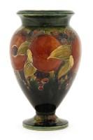Lot 100-A Moorcroft 'Pomegranate' vase