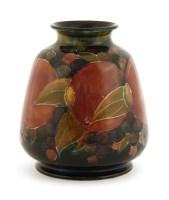 Lot 99-A Moorcroft 'Pomegranate' vase