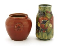 Lot 98-A Moorcroft 'Pomegranate and Berry' vase