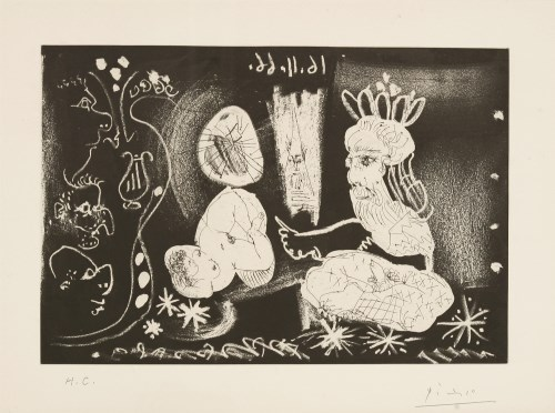 Lot 8-*Pablo Picasso (Spanish