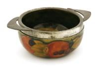 Lot 97-A Moorcroft 'Pomegranate' sugar bowl