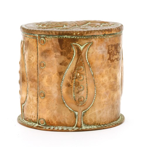 Lot 60-A John Pearson pot and cover