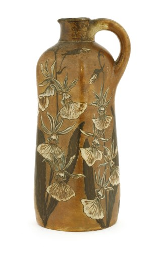 Lot 50-A Martin Brothers' stoneware flask