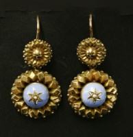 Lot 31-A pair of Victorian gold
