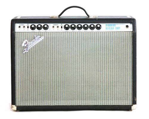 Lot 637-A 1968 Fender Vibrolux Reverb guitar amplifier