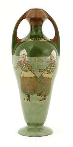 Lot 46-An Art Nouveau pottery vase