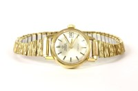 Lot 85 - A ladies gold plated Omega automatic Geneve watch
