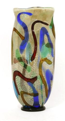 Lot 558 - A Murano glass vase