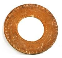 Lot 63-A Cornish Arts and Crafts copper mirror