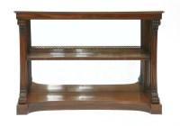 Lot 26 - A Regency rosewood pier table