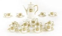 Lot 56 - A Royal Crown Derby twelve-setting coffee service