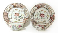 Lot 53 - A pair of famille rose bowls
