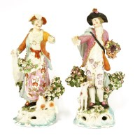 Lot 51 - A pair of Derby figures