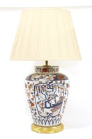 Lot 95 - A table lamp