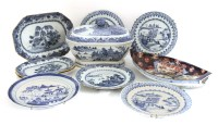 Lot 94 - Chinese blue and white plates