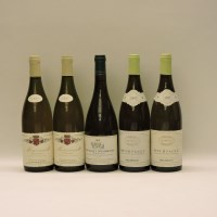 Lot 15-Assorted White Wines to include: Meursault 1ere Cru
