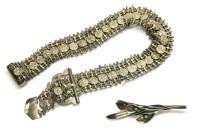 Lot 96 - A sterling silver Swedish brooch