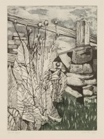 Lot 30-*Liz Coulter (British) LANDSCAPES Two etchings with aquatint printed in colours