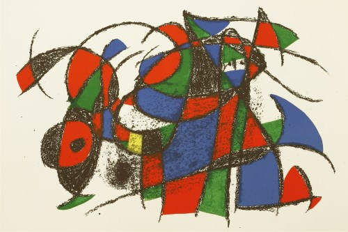 Lot 17-*Joan Miró (Spanish