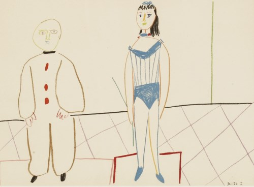 Lot 11-*After Pablo Picasso (Spanish
