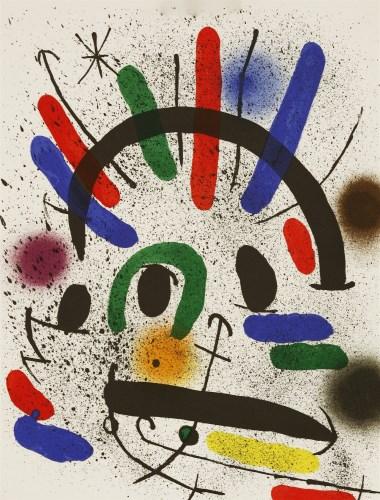 Lot 19-*Joan Miró (Spanish