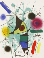 Lot 21-*Joan Miró (Spanish