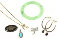 Lot 11A-A collection of costume jewellery