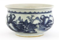 Lot 48-A Chinese blue and white censer