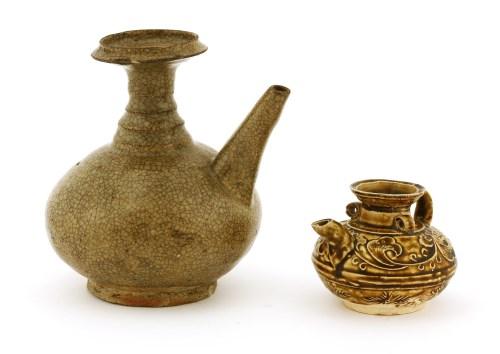Lot 7-A Chinese pottery ewer