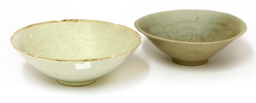 Lot 10-Two Chinese qingbai ware bowls
