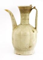 Lot 4-A Chinese qingbai ware ewer and cover