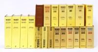 Lot 33-Wisden's Cricketers' Almanack: 1952(Original Limp linen); 1954(Original Limp linen); 1959(Original Limp linen); 1963(Original brown cloth); 1964(Original Limp linen); 1965(Original Limp linen); 1966(O