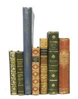 Lot 30-FINE BINDINGS: A Large quantity including: Shakespeare's works