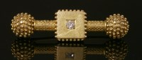 Lot 30-A Victorian gold Etruscan Revival