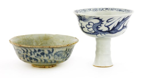 Lot 16-A Chinese blue and white bowl