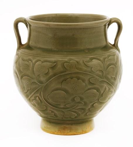 Lot 6-A Chinese Yaozhou ware vase