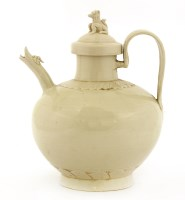 Lot 14-A Chinese Ding ware ewer and cover