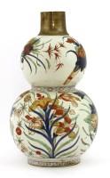Lot 43-A Chinese wucai vase